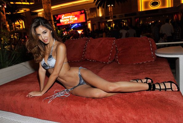 Encore Beach Club at Night Grand Opening Hosted by Ashley Sky